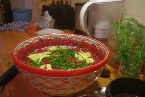 Borschtsch aus Roter Beete