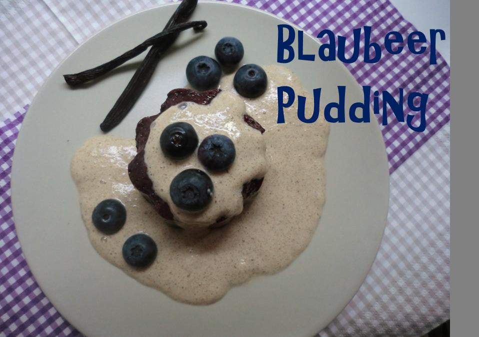 Blaubeer Pudding