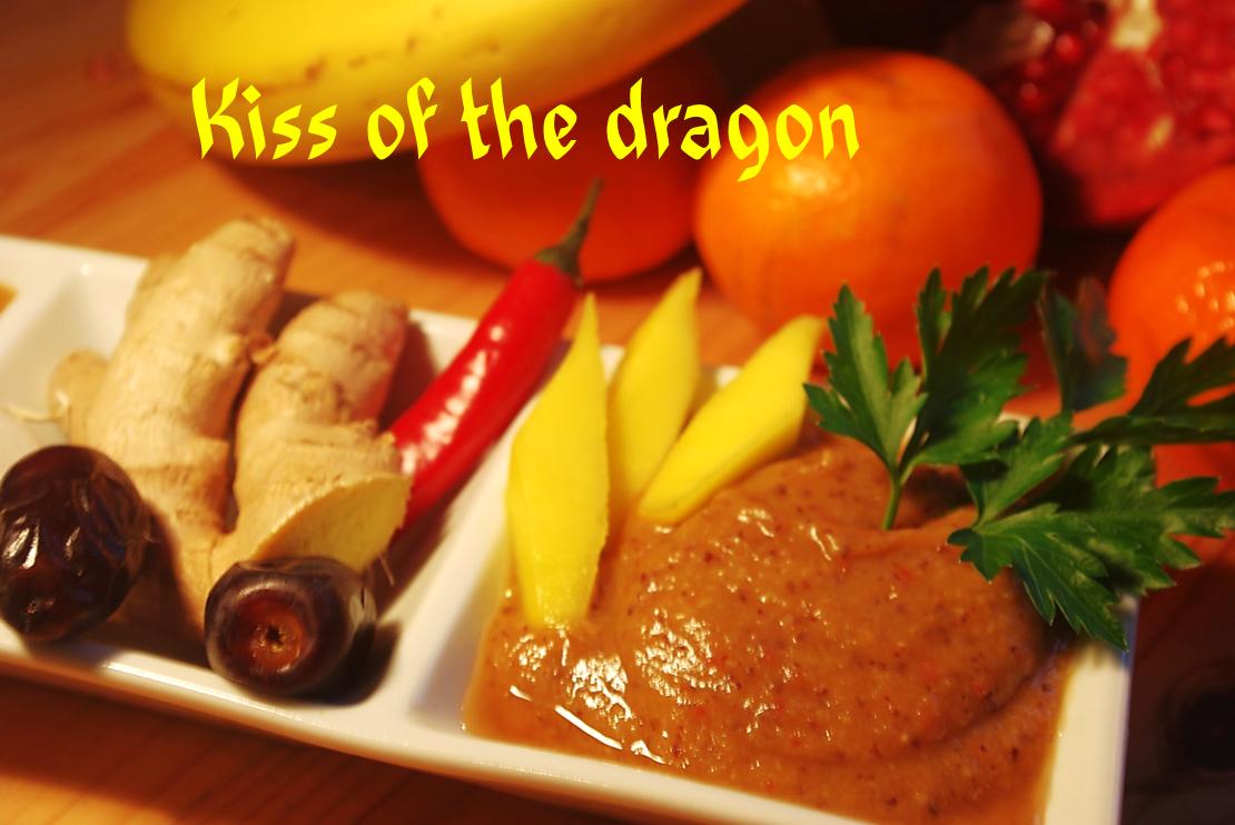 kiss of the dragon asiatische ingwer chilli sauce nordisch roh. Black Bedroom Furniture Sets. Home Design Ideas