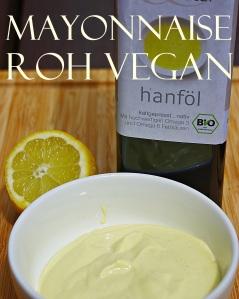 mayonnaise roh vegan