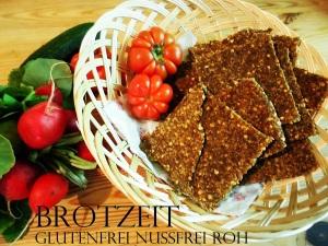 Rohkost Brot - für Süßes & Würziges
