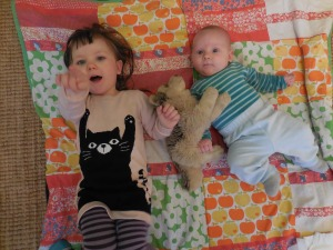 Kleiner Arvid 9 1/2 Wochen alt