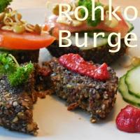 Rohkost Rezept: Gekeimte Linsen Burger